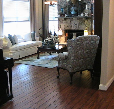 Burgess Hardwood Floor Installation Room View 1